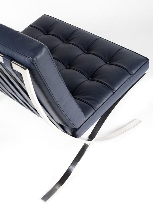Barcelona blue chair