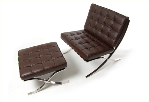Barcelona chair brown buy