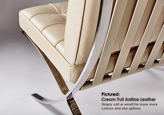 Barcelona chair cream 04