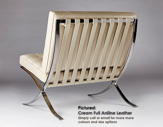 Barcelona chair cream 06