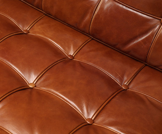 Barcelona chair vintage leather