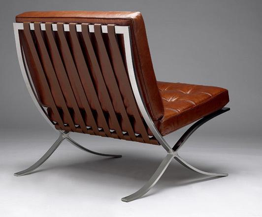 Barcelona chair vintage rohe