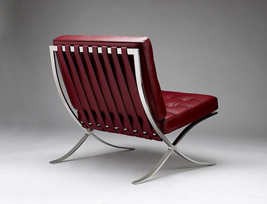 Chair barcelona claret