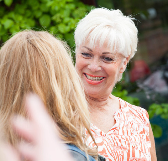 Denise welch iconic