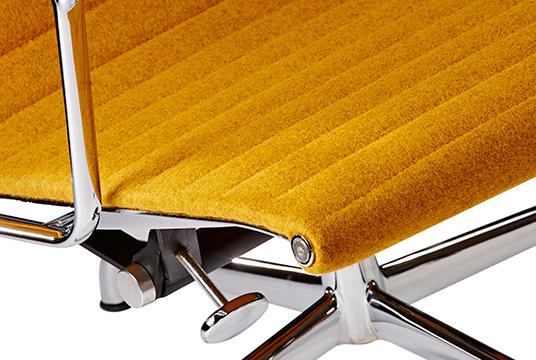 Ea124 lounge chair mustard