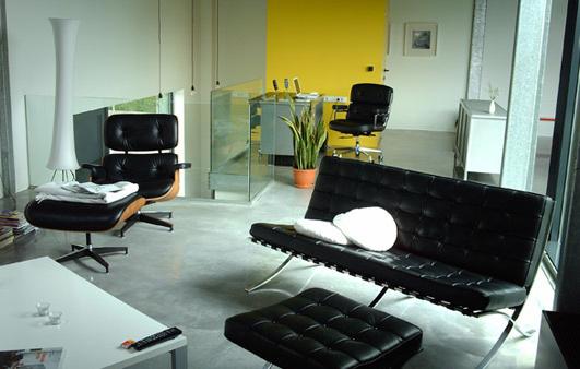 Eames barcelona sofa