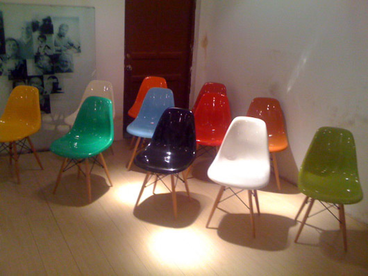 Eames dining chair colours