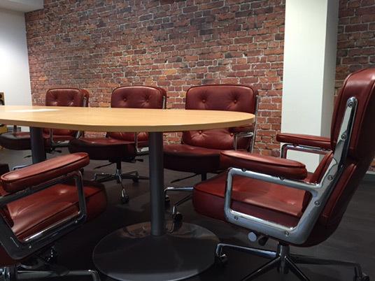 Eames lobby chair 01