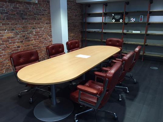 Eames lobby chair 02