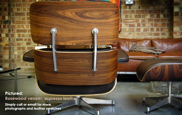 Eames lounger polished base
