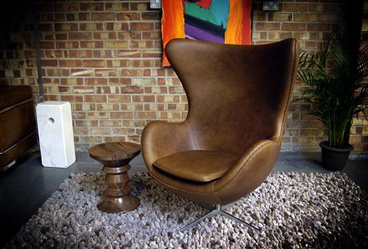 Egg antique chair