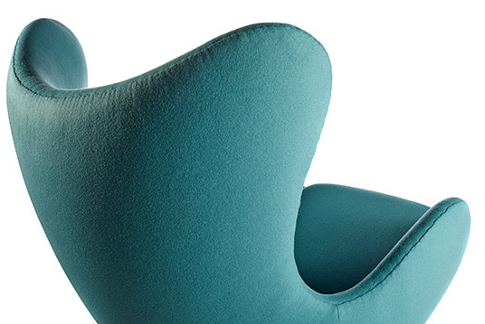 Egg chair turquoise