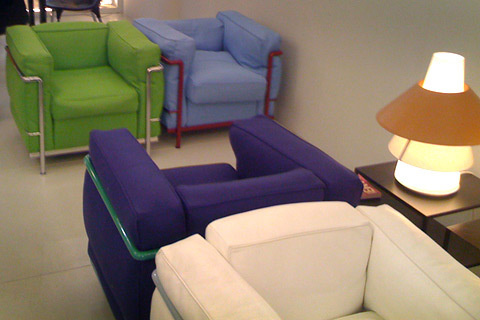 Feather lc2 chairs