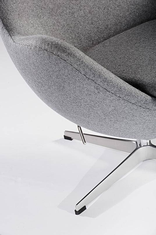 Grey egg chair04