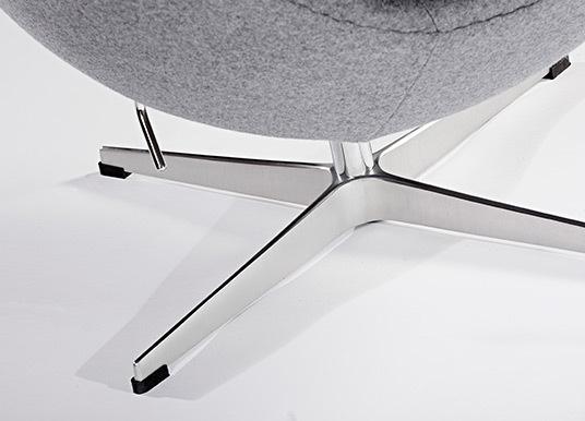Grey egg chair05