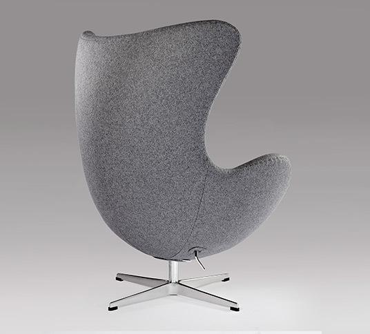 Grey egg chair06