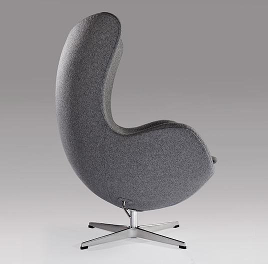 Grey egg chair08