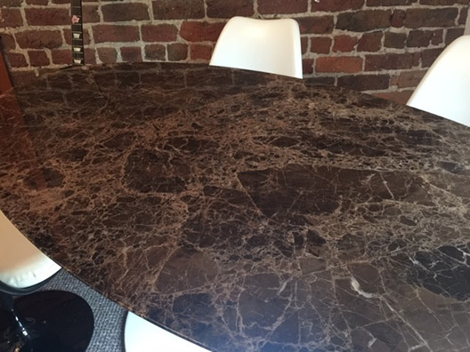Marble tulip tables 13