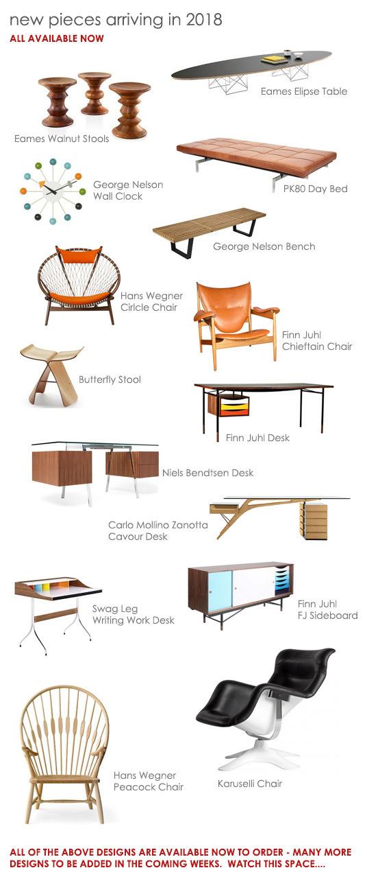 New designer furniture 2018