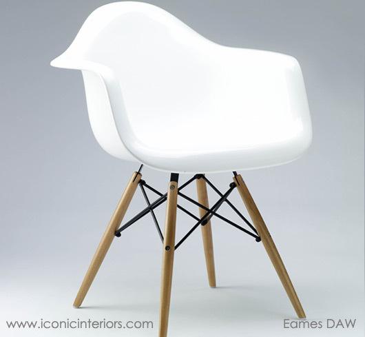 News eames dining chair daw