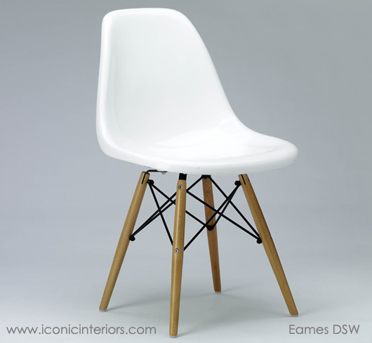 News eames dining chair dsw