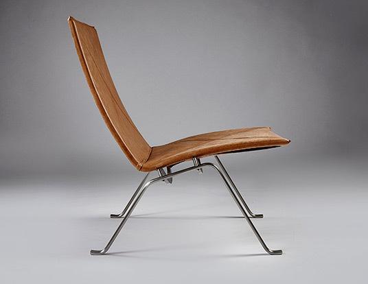 Pk22 chair parchment 10
