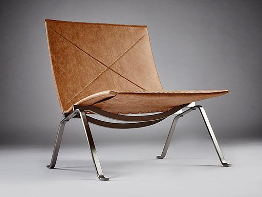 Pk22 chair parchment 11