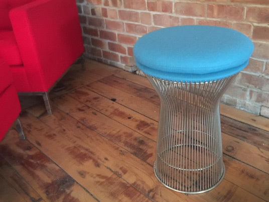 Platner stool news
