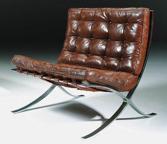 Pre knoll barcelona chair