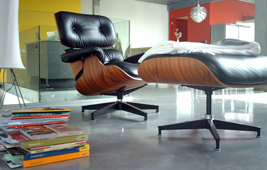 Rosewood eames lounger