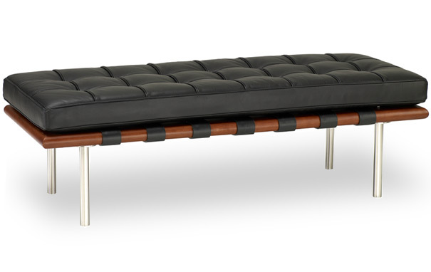 Photograph of Barcelona 2 seater bench