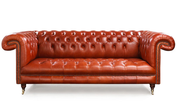 Photograph of Kitchener Chesterfield 3 seater sofa