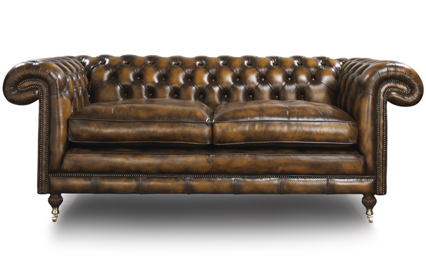 Photograph of Maccabee Chesterfield 3 seater sofa