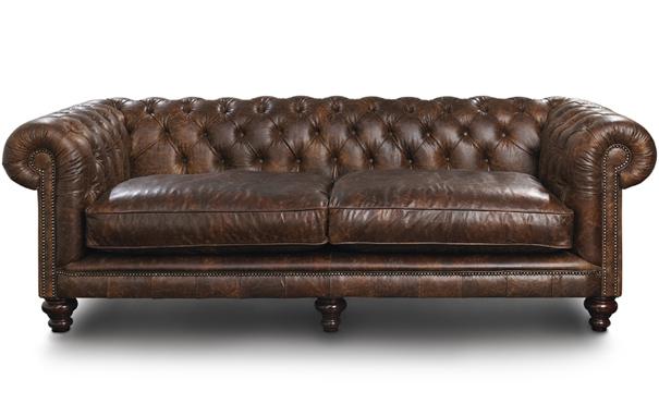 Photograph of Randolph Chesterfield 3 seater sofa