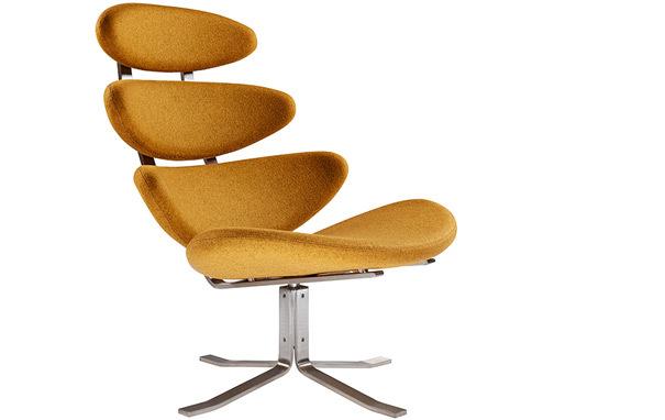 Corona chair 1Corona Chair & Ottoman