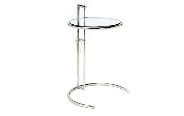 E1027 side table 001Eileen Gray E1027 Side Table