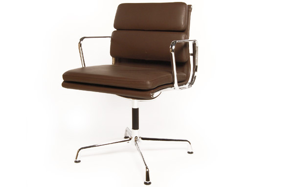 Photograph of Eames Style EA208 Soft Pad Office Chair