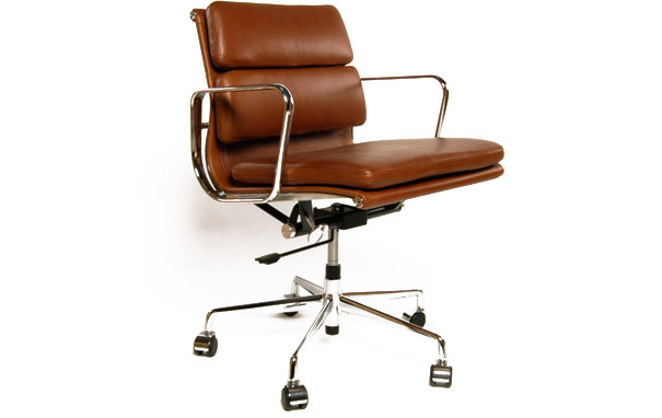 Photograph of Eames Style EA 217 replica office chair
