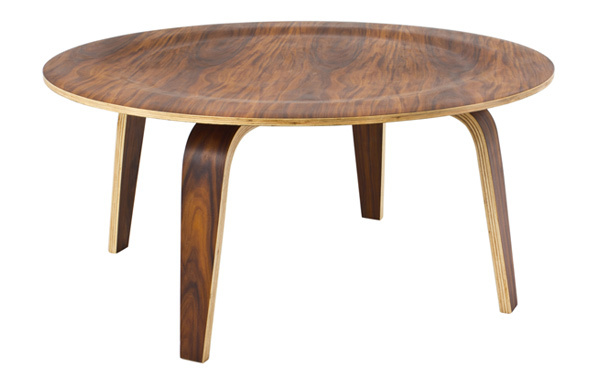 Eames coffee table plywoodEames Style Molded Plywood Coffee Table