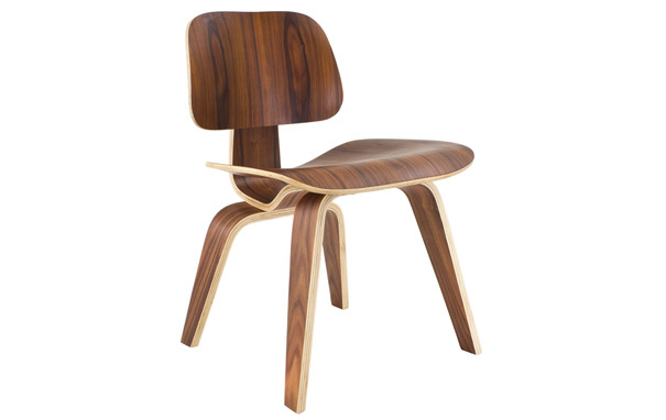Photograph of Eames Style Plywood DCW Dining Chair