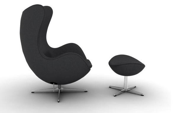 Egg chair stoolEgg Chair Stool