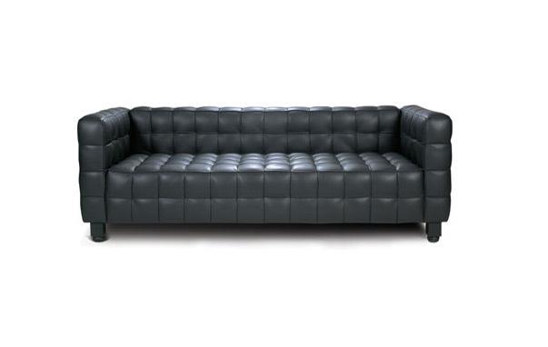 Josef hoffman three seater sofaKubus 3 seater sofa