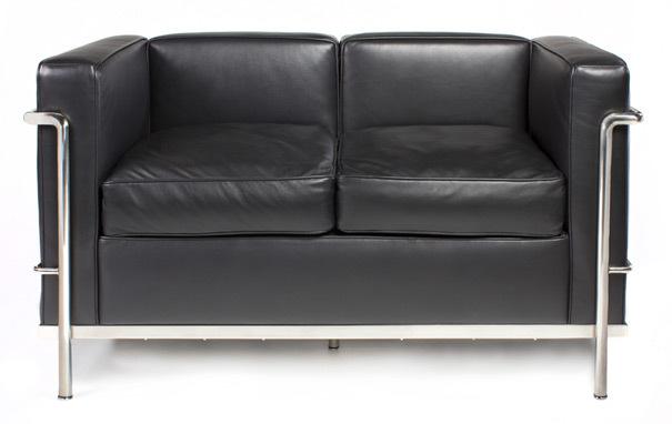 Lc2 sofa corbusierLe Petit Confort 2-Seater Sofa