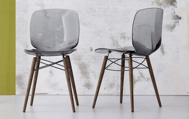 Loto dining chairBonaldo Loto W Dining Chair