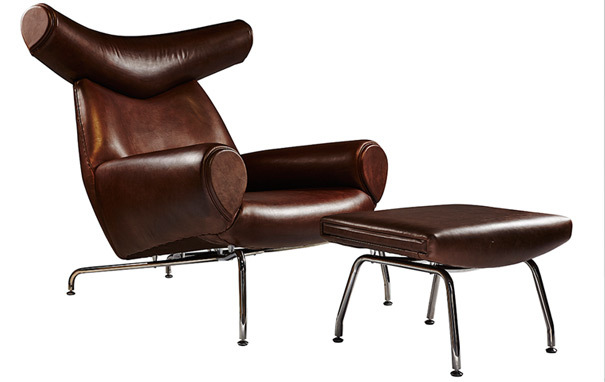 Ox chairOx Chair and Ottoman