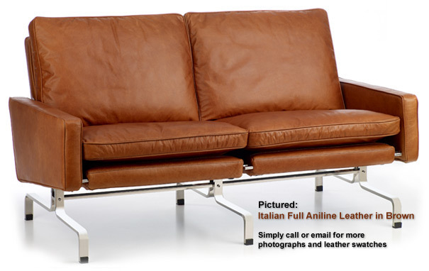 Photograph of PK31 two seater sofa