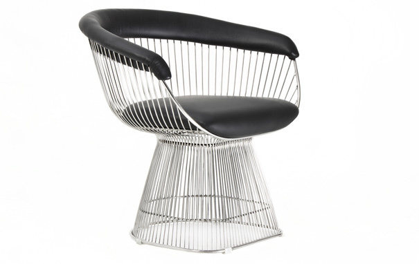 Photograph of Warren Platner Style Dining Chair