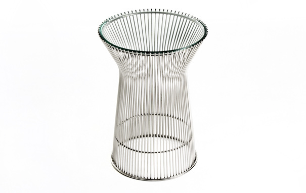 Photograph of Warren Platner Side Table