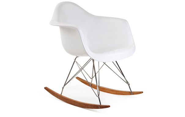 Photograph of Eames Style RAR Rocking Chair - Fibreglass