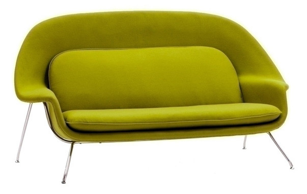 Saarinen womb sofaWomb Sofa